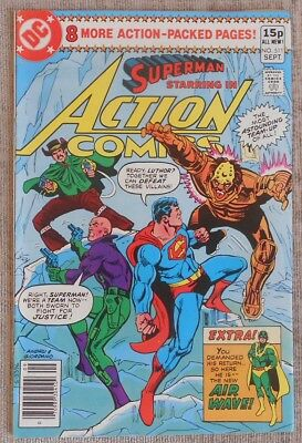 Superman Starring in Action Comics 511: VFN