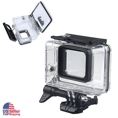 45M Underwater Waterproof Housing Case Dive Filter Kit for GoPro Hero5 6 7 Black