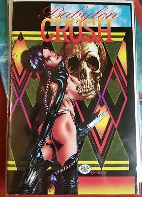 Babylon Crush 2 Boneyard Press Hart D. Fisher Thomas Derenick #RARE#