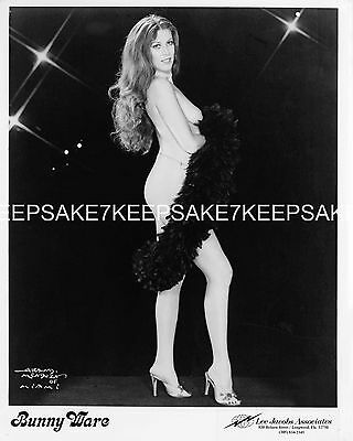 Stripper  Bunny Ware Leggy In A Boa And Heels Photo S-Bunny Ware