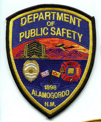 Alamogordo New Mexico Public Safety Patch (Police & Fire) // FREE US SHIPPING!
