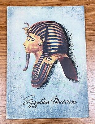Egyptian Museum 1957 Guide Book and Brochure Travel Tourism Booklet Ephemera