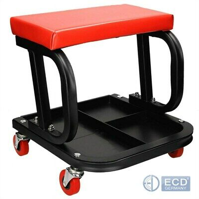 Mechanic garage workshop stool creeper seat roller stool swivel chair trolley
