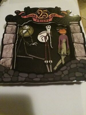 Nightmare Before Christmas 25th Anniversary Jumbo Pin SetLE 1500 Sold Out