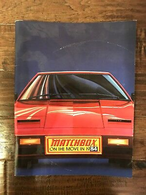 """1984 Vintage """"MATCHBOX"""" (ON THE MOVE IN 1984) """"KIDCO"""" Toy Catalog, RARE!"""