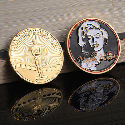 Hollywood Marilyn Monroe commemorative coin Pop* Gift