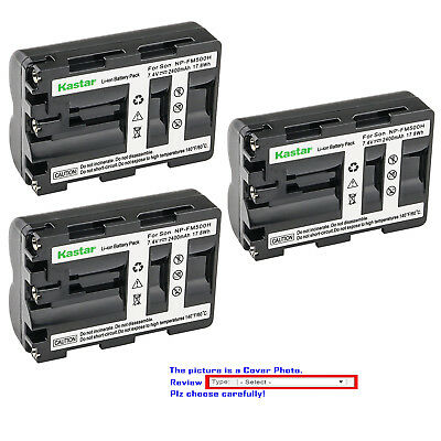 Kastar Replacement Battery for Sony NP-FM500H & Sony VG-C77AM Camera Grip