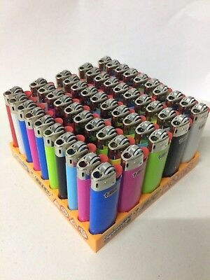 50 ORIGINAL mini bic lighter in different colors - NEW