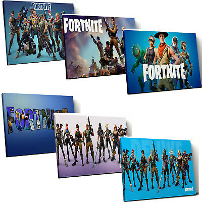 Battle Royale kids fort Game nite Box Canvas Wall Art Print Picture multi select