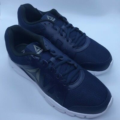 New Reebok Mens Trainfusion Nine 2.0 Lmt Navy Running Shoes Size 8