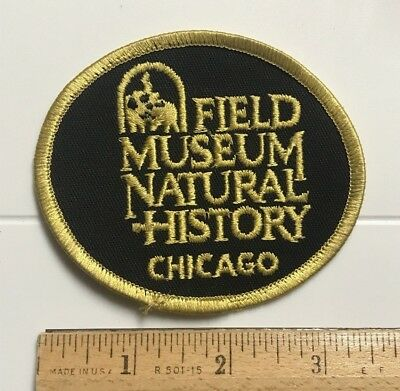Field Museum of Natural History Chicago Illinois IL Souvenir Embroidered Patch