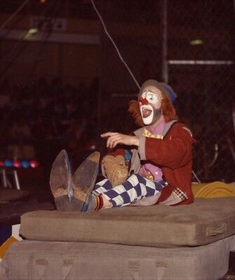 1982 - Ringling Bros. Circus Red Unit - World Famous Clown CHARLIE FRYE