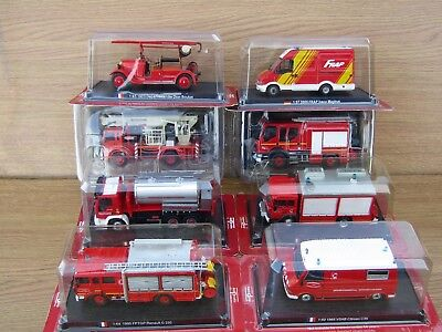 Del Prado Fire Engines of The World : Various designs & scales - Free UK postage