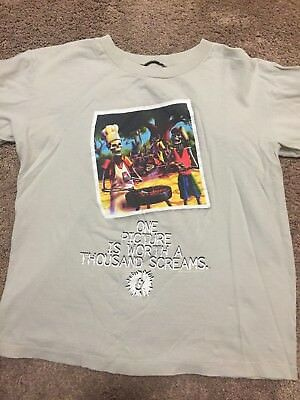 """Goosebumps """"Say Cheese and Die"""" t-shirt original vintage 90's"""