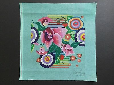 Leigh Designs Hand-painted Needlepoint Canvas Guadalajara, Zapopan