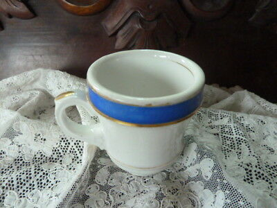 Single 19Th Century French Valentine Cafe Porcelain Brulot Espresso Coffee Cup