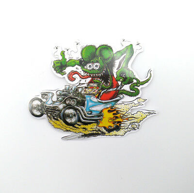 10Pcs Motorcycle Rat Fink Big Daddy Classic Hot Rod Ed Roth Vinyl Car Stickers