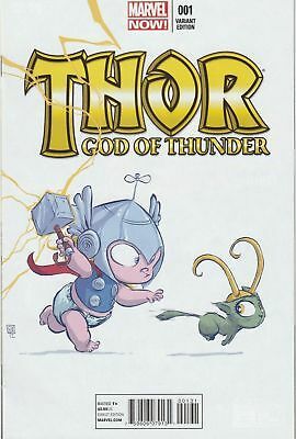 Thor God of Thunder #1 (Skottie Young Baby Variant)