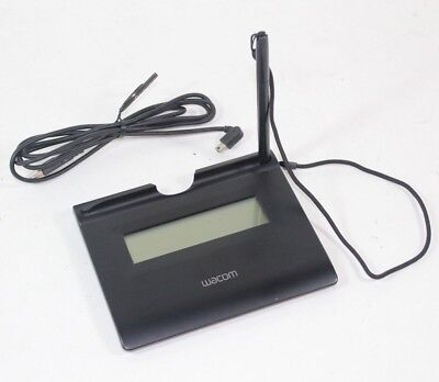 WACOM Signature Pad Model STU-300/K w/ USB Cable & Stylus