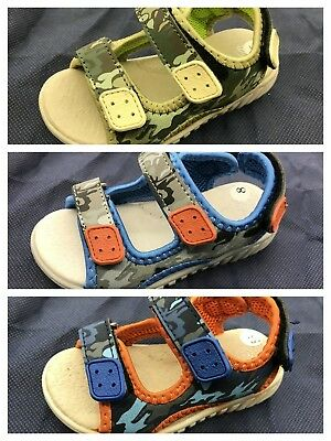 New Baby Boys Toddler Kids Open-Toe Sport Sandals Shoes size 5.5 - 9