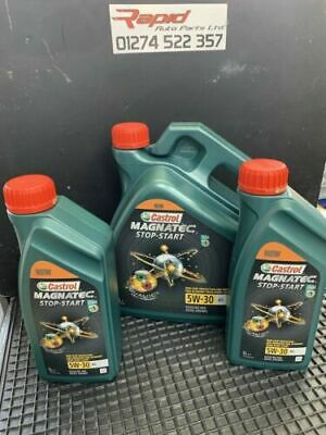 Castrol Magnatec Stop-Start 5W-30 A5 Fully Synthetic Engine Oil 6 Litres 6L
