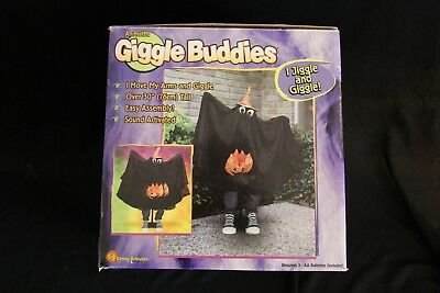 Gemmy Halloween Animated Giggle Buddies 3ft Ghost Animated Motion Activated