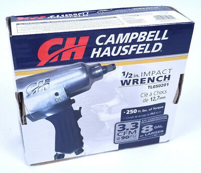 Campbell Hausfield 1/2 Inch Air Impact Wrench TL050201