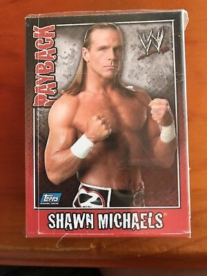 WWE Payback Trading Card Set by Topps 2007