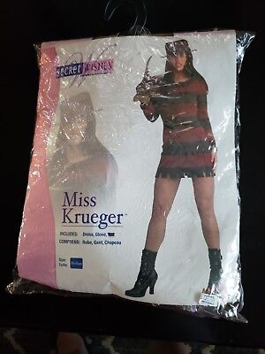 Halloween Costume, Woman Size Medium. Miss Krueger Costume