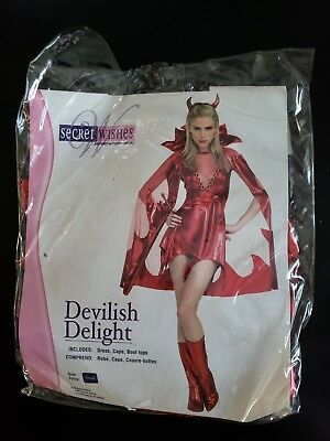 Halloween Costume, Woman Size Small, Devil Costume