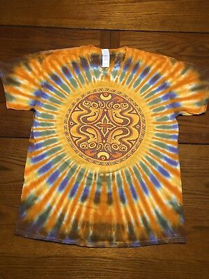 Mens Gov't Mule Dose Tie-dye Size Large SOLD OUT