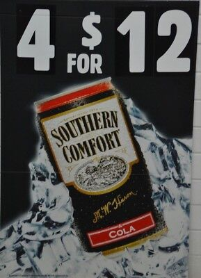 Southern Comfort & Cola Advertising Corflute Sign