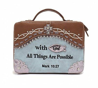 05966aaaf0a8 WESTERN STYLE COUNTRY Bible Cover Scripture Verse Books Case ...