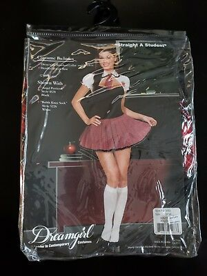 Halloween Costume, Women Size Small Straight A Student