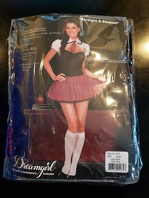 Halloween Costume Woman Straight A Student Size Large