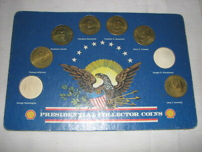 1992 Shell Presidential Collector Coins