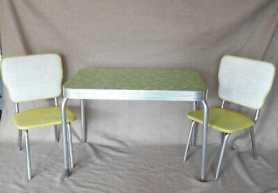 Vintage 1950 S Children S Table And Chair Set 180 00 Picclick