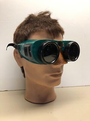 Vintage Industrial Burning/ Welding Goggles Morse Shade 5 Type 707x NOS/ Box