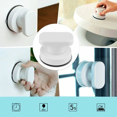 Strong Suction Cup Drawer Glass Mirror Door Pull Knobs Toilet Bathroom Handles