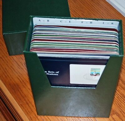 FRANKLIN MINT COINS OF ALL NATIONS including CHINA! 40 Countries with Stamps.