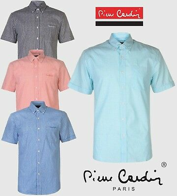 "Pierre Cardin Shirt Man Checked "" Gingham "" the M in the XXXL"