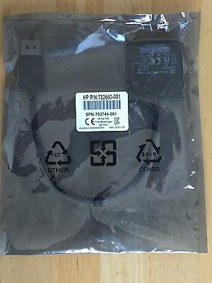 HP DisplayPort to DVI SL Adapter P/N 752660-001 - Brand New / Sealed Bag!