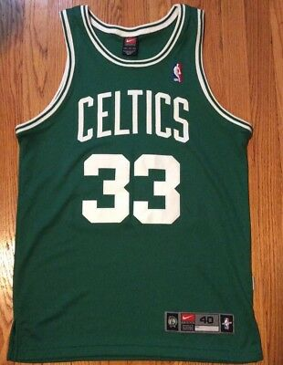 competitive price 15a82 f907c BOSTON CELTICS LARRY Bird Nike Authentic Jersey 40 Original HWC Swingman  Adidas