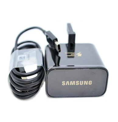Genuine Fast Charger Plug & Type C Usb Cable For Samsung Galaxy S8 S9 Plus A3 A5
