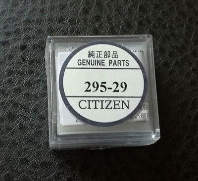 LOT of 2 NEW GENUINE CITIZEN WATCH CELL CAPACITOR for 295-29 , Eco-Drive