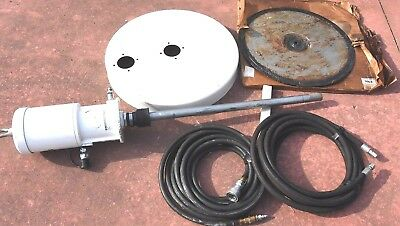 Bijur Delimon F624 55:1 Air operated 400# Barrel Grease Pump Top, Follower, hose