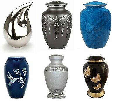 Large Cremation Urns for Ashes Adult Human Funeral Burial Memorial Urns With Lid