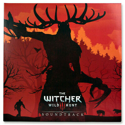 The Witcher 3 Wild Hunt soundtrack limited RED vinyl 4 LP foldout sleeve NEW