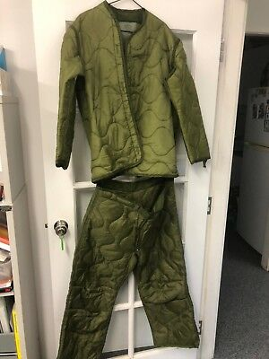 Army Cold Weather Trousers and jacket set, EX US Army
