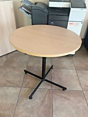 Small Round Office Meeting Table - 800mm Diameter